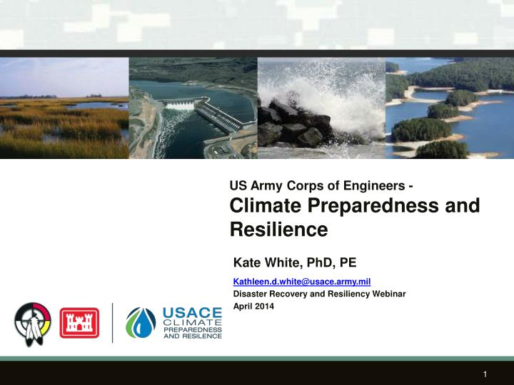us army corps of engineers climate preparedness and resilience n.