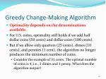 greedy change making algorithm1