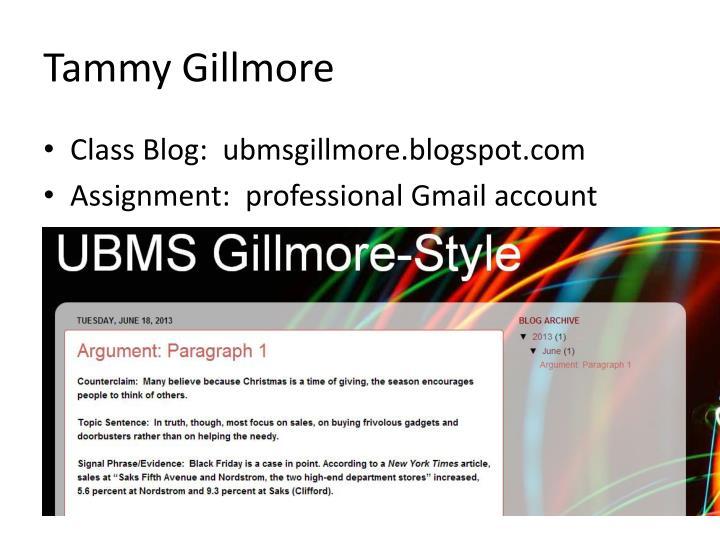 Tammy gillmore1