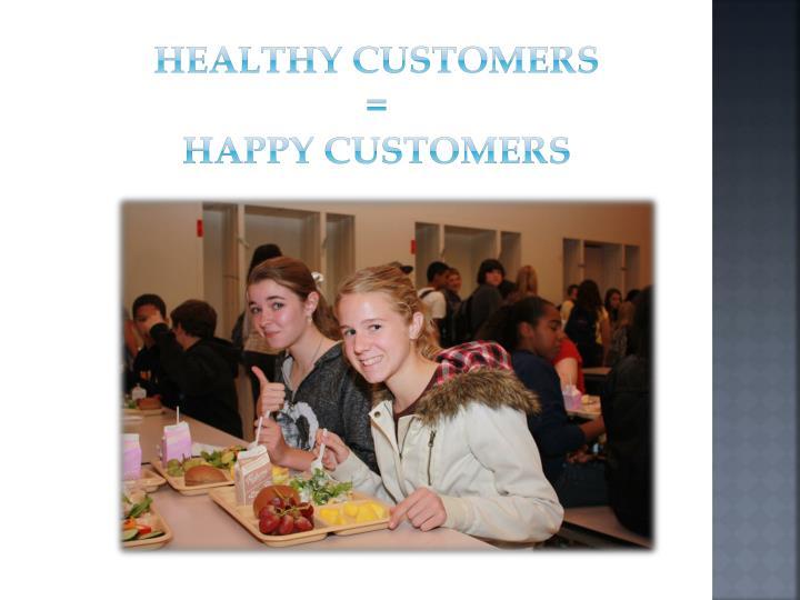 Healthy customers