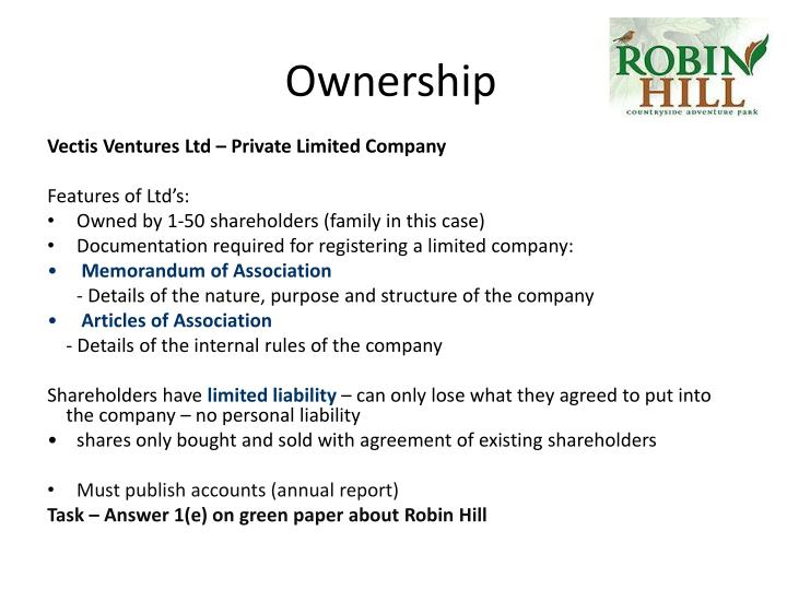 Ownership