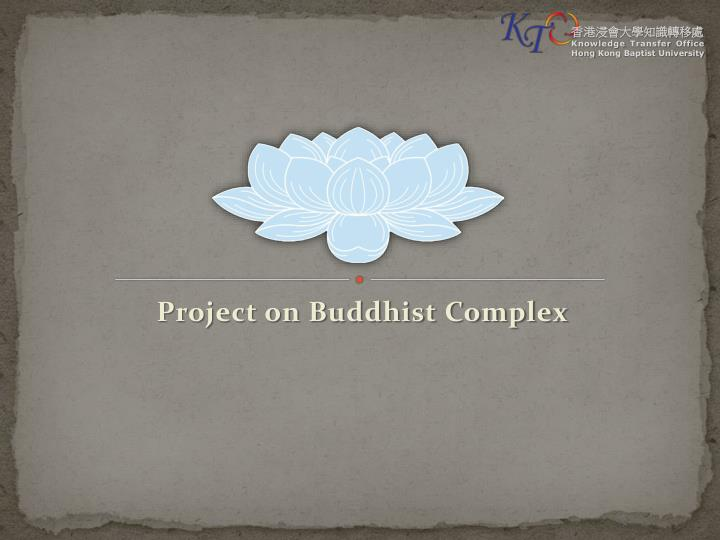 project on buddhist complex n.