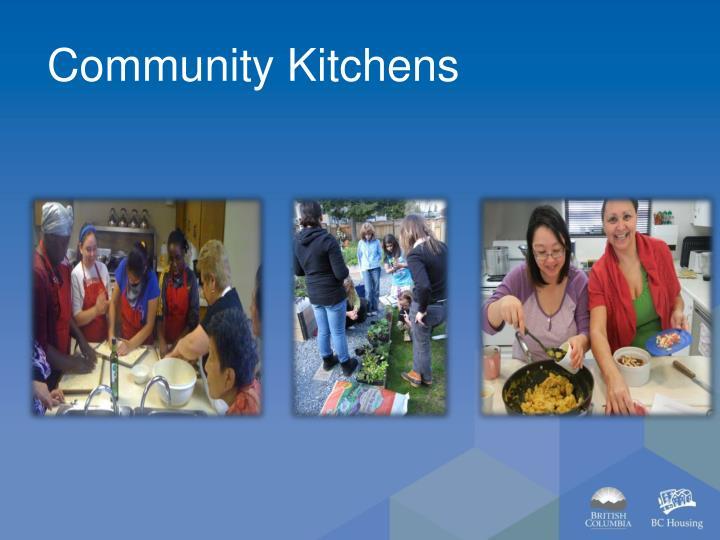 Community Kitchens