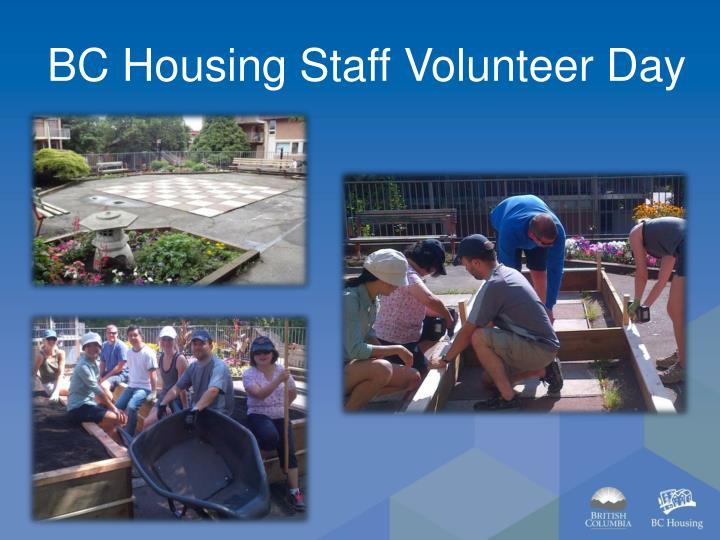 BC Housing Staff Volunteer Day