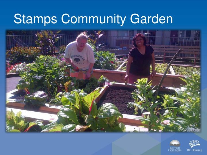 Stamps Community Garden