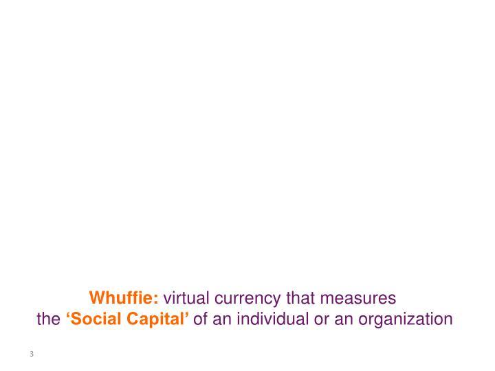 Whuffie: