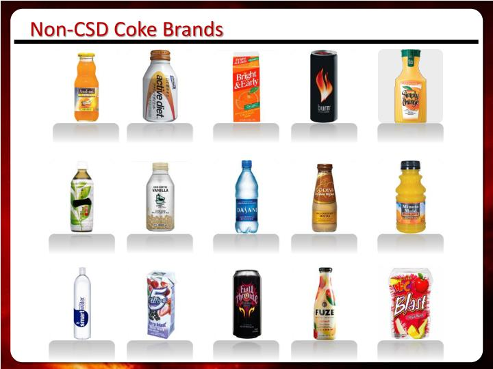 Non-CSD Coke Brands