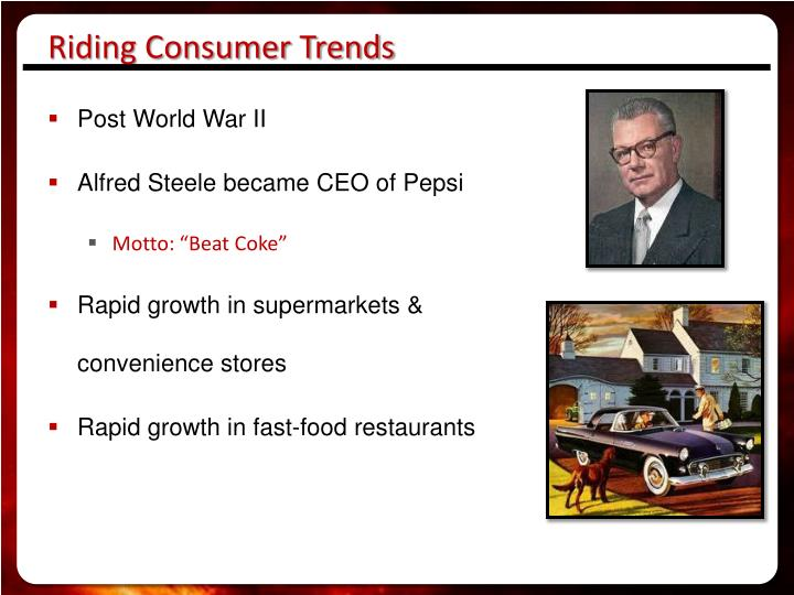Riding Consumer Trends