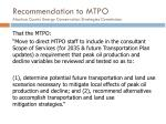 recommendation to mtpo alachua county energy conservation strategies commission