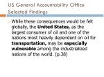 us general accountability office selected findings2