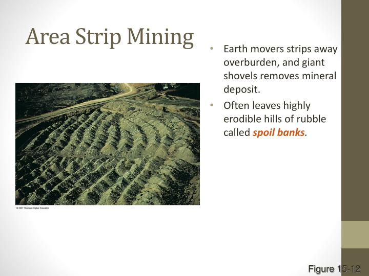 Area Strip Mining