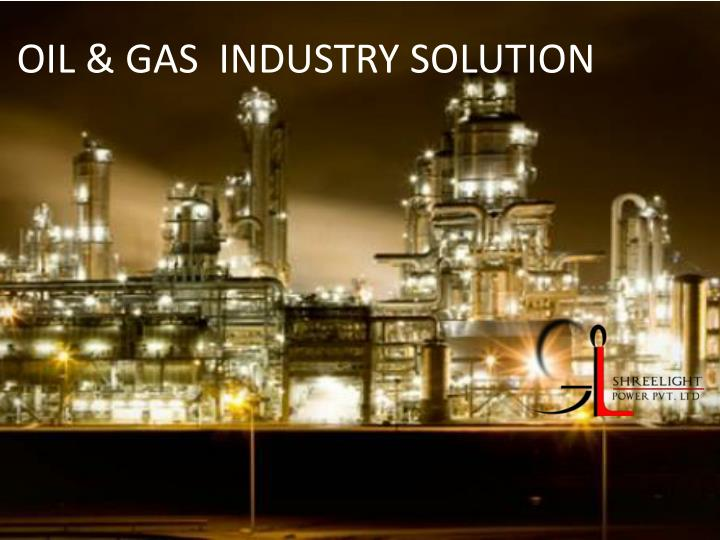 oil gas industry solution n.