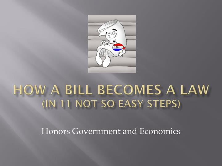 how a bill becomes a law in 11 not so easy steps n.