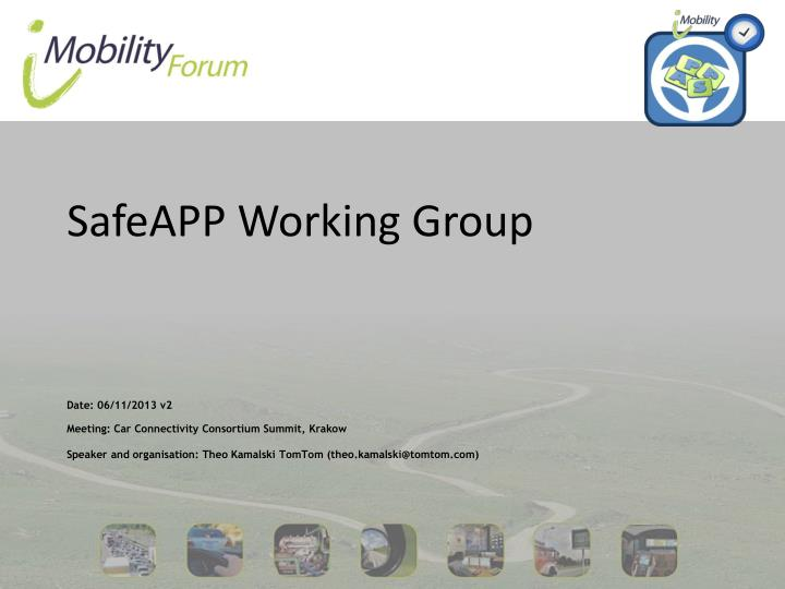 safeapp working group