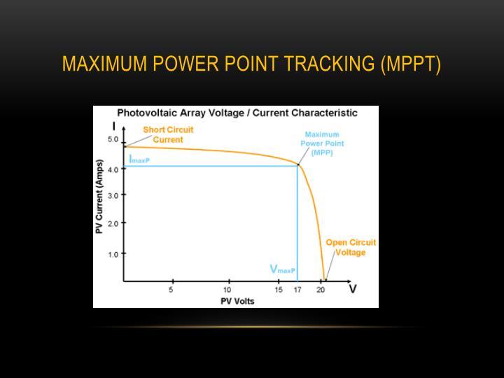 Maximum power point