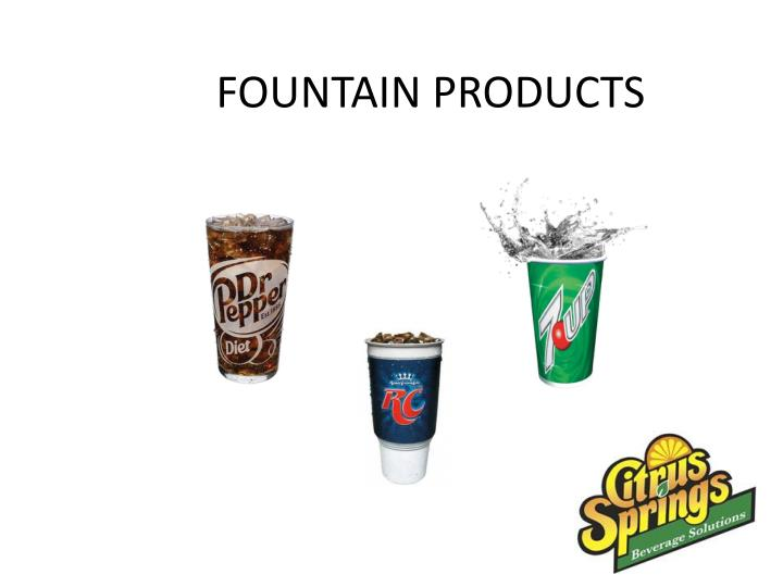 fountain products n.