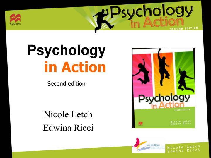 psychology in action second edition n.