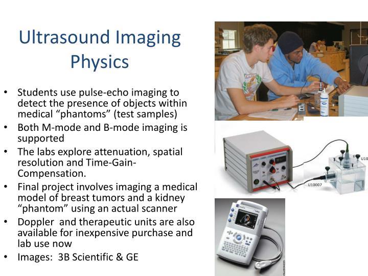 Ultrasound Imaging Physics