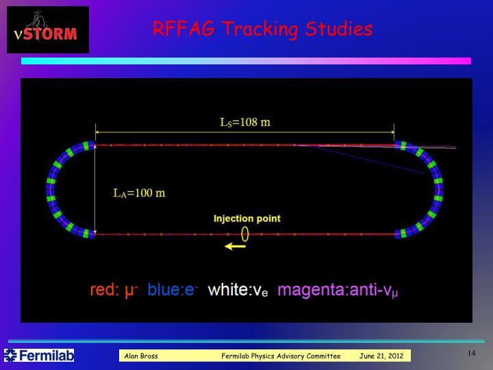 RFFAG Tracking Studies