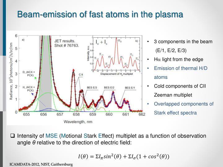 Beam-emission