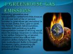 1 greenhouse gas emissions