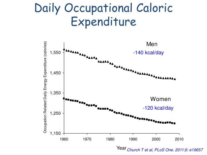 Daily Occupational Caloric Expenditure