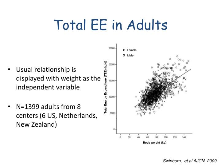 Total EE in Adults