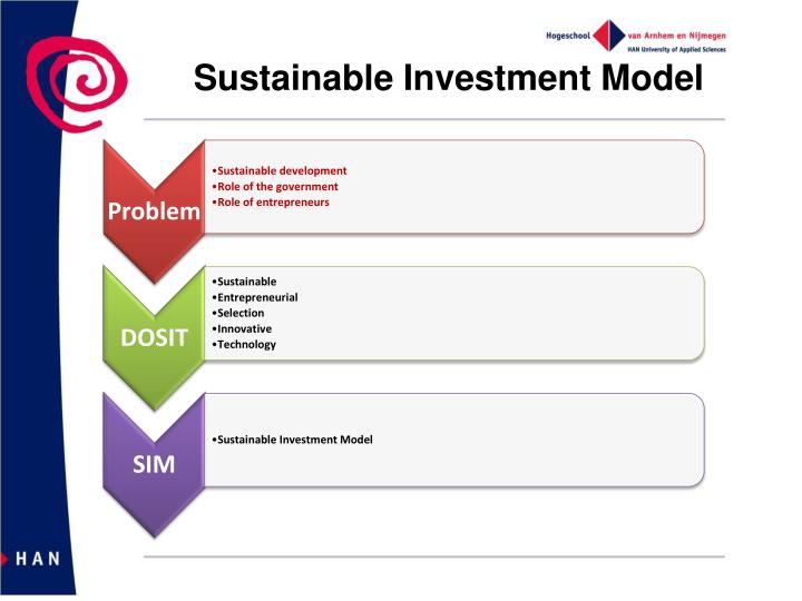what is sustainable investment essay This essay explores the role that finance can play to ensure that investment protects the environment and promotes economic systems that are internally sustainable dirk schoenmaker argues that seeing the role of finance as one of allocating funding to productive investments in a narrow sense is no longer appropriate.