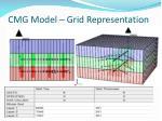 cmg model grid representation