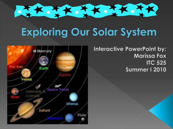 exploring our solar system n.