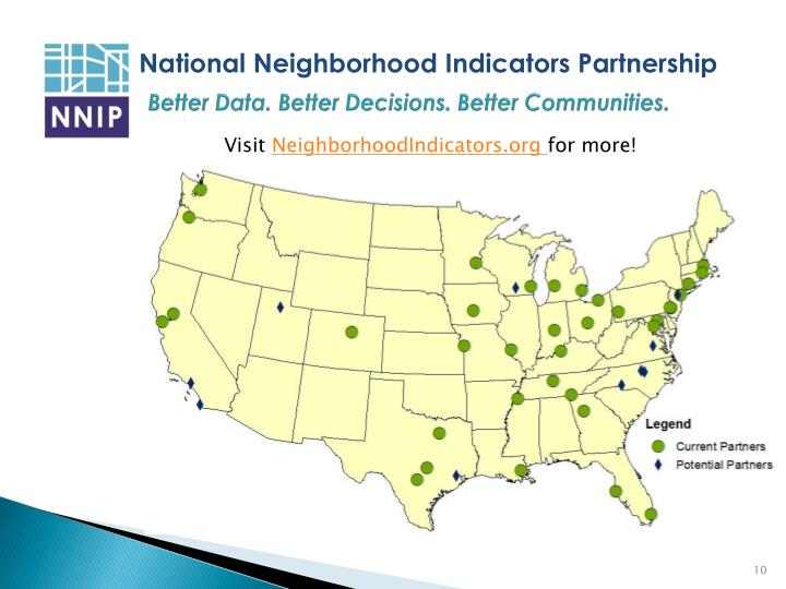 Better Data. Better Decisions. Better Communities