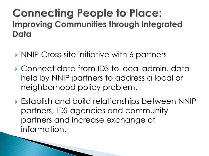 Connecting People to Place:
