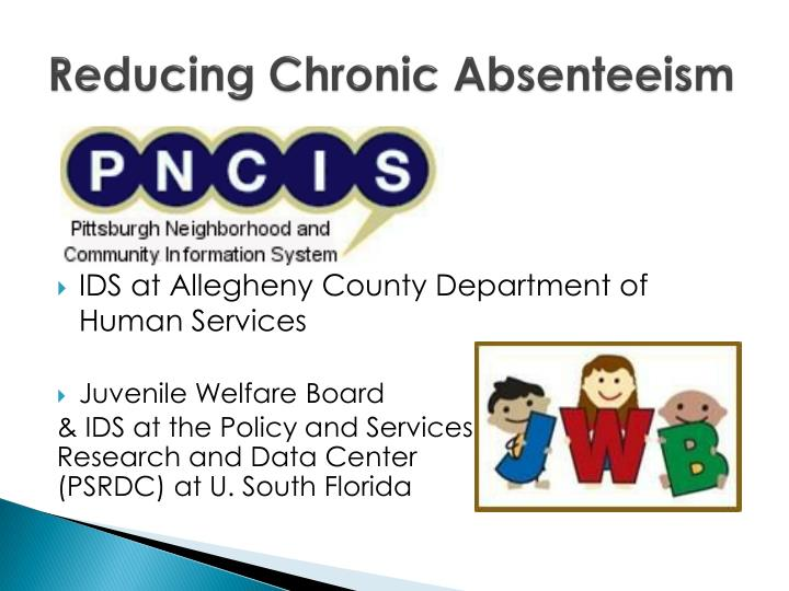 Reducing Chronic Absenteeism