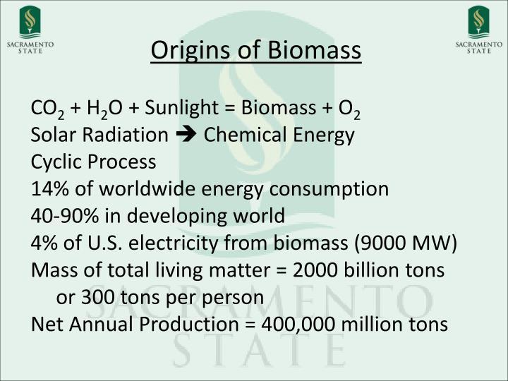 Origins of Biomass