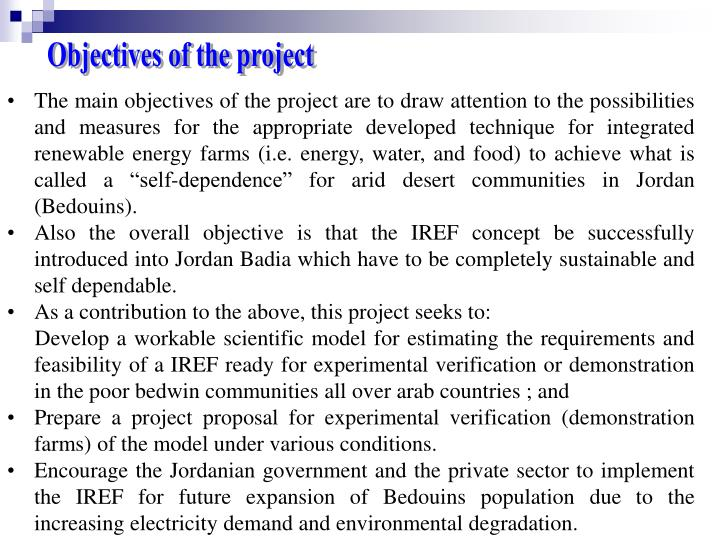The main objectives of the project are to draw attention to the possibilities and measures for the a...