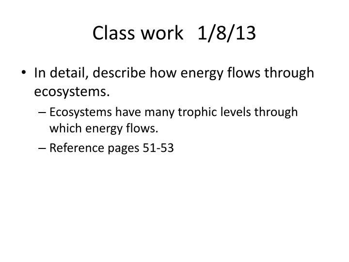 Class work1/8/13