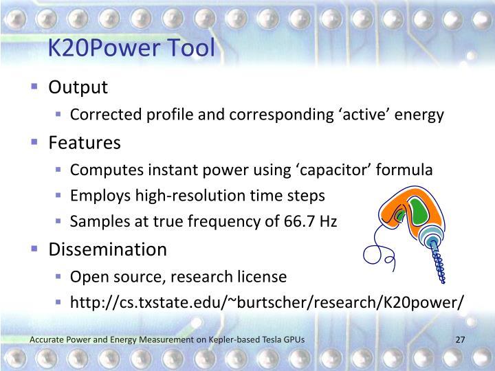 K20Power Tool