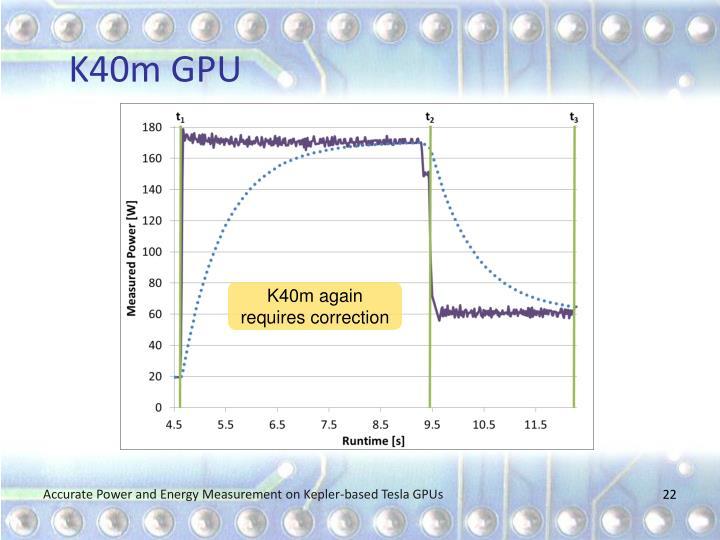 K40m GPU