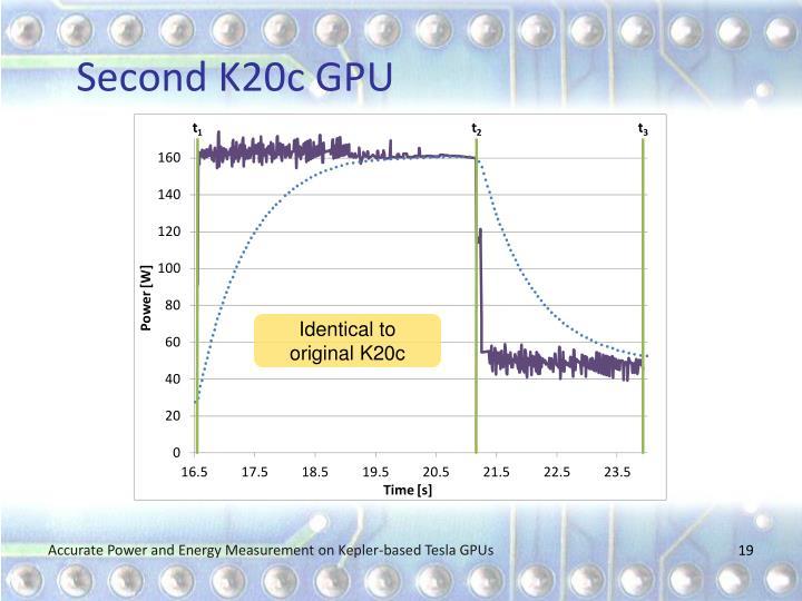 Second K20c GPU