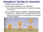 atmospheric heating by convection
