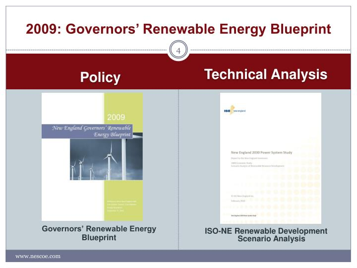 2009: Governors' Renewable Energy Blueprint