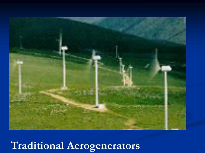 Traditional Aerogenerators