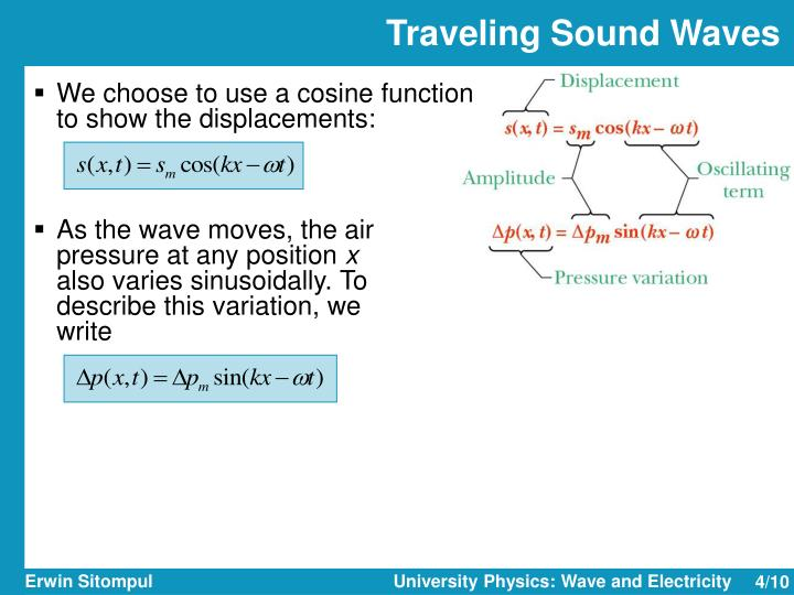 Traveling Sound Waves