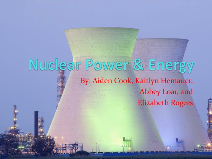 nuclear power energy n.