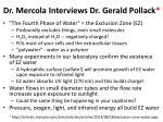 dr mercola interviews dr gerald pollack