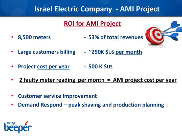 Israel Electric Company  - AMI Project