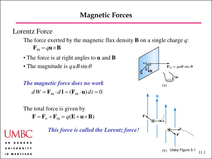 magnetic forces n.