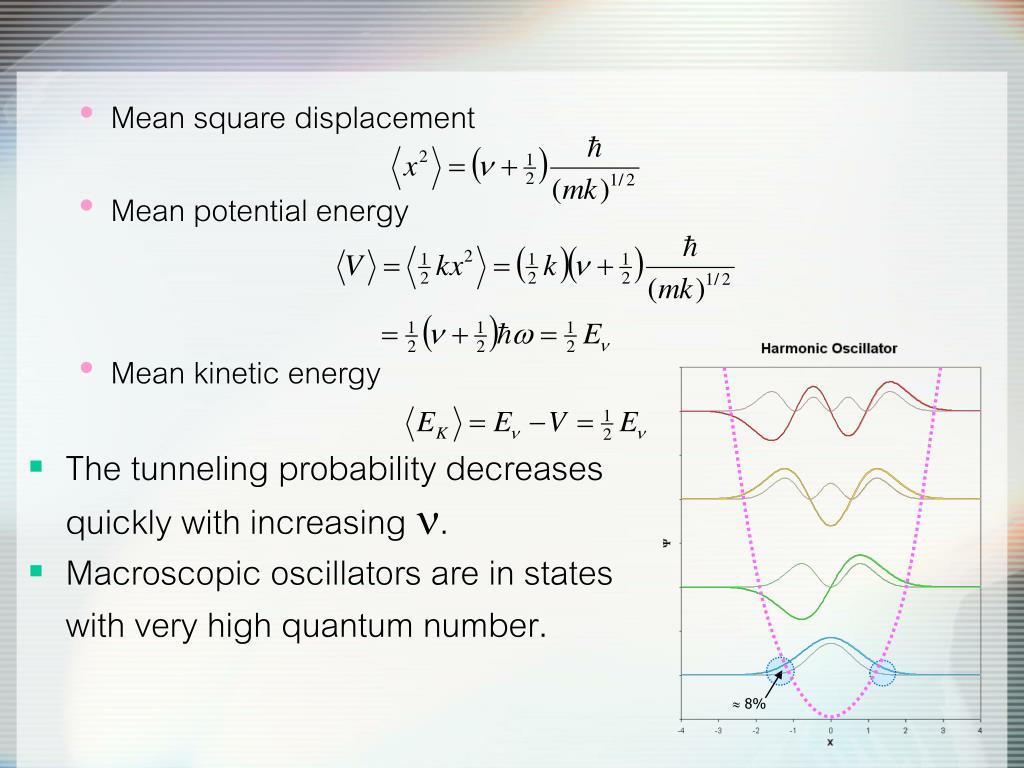 PPT - Physical Chemistry III (728342) The Schrödinger ...