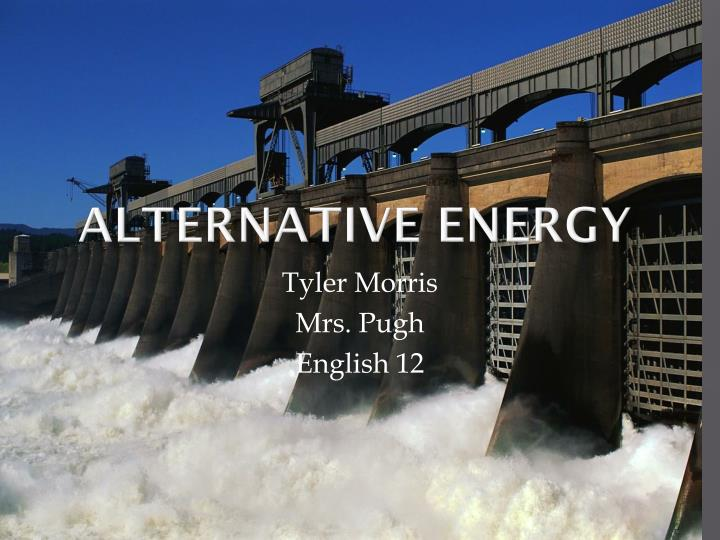 alternative energy n.