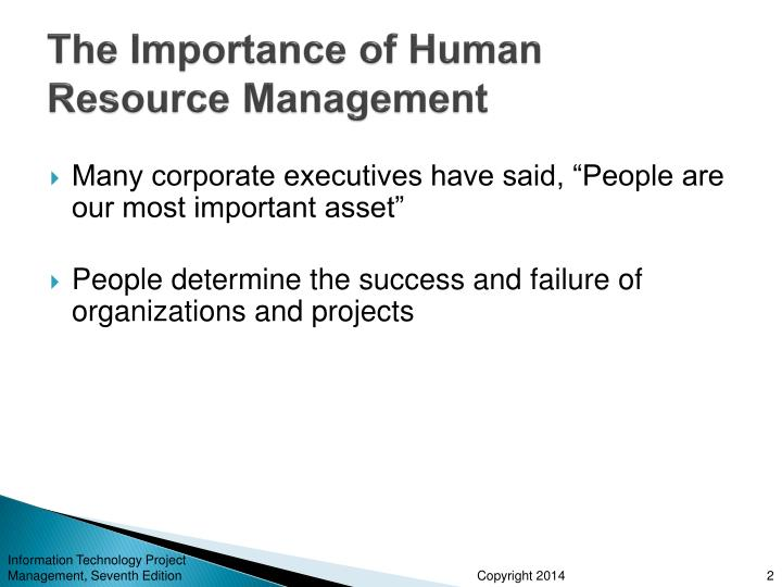 the importance of hrm and valuing I've worked in human resources for over why hr really does add value it's important to note that the value added by hr in this instance had little.